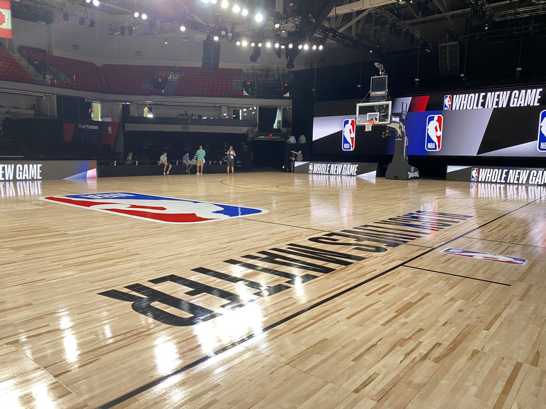 NBA Bubble Court