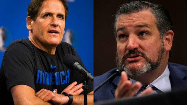 Mark Cuban and Ted Cruz