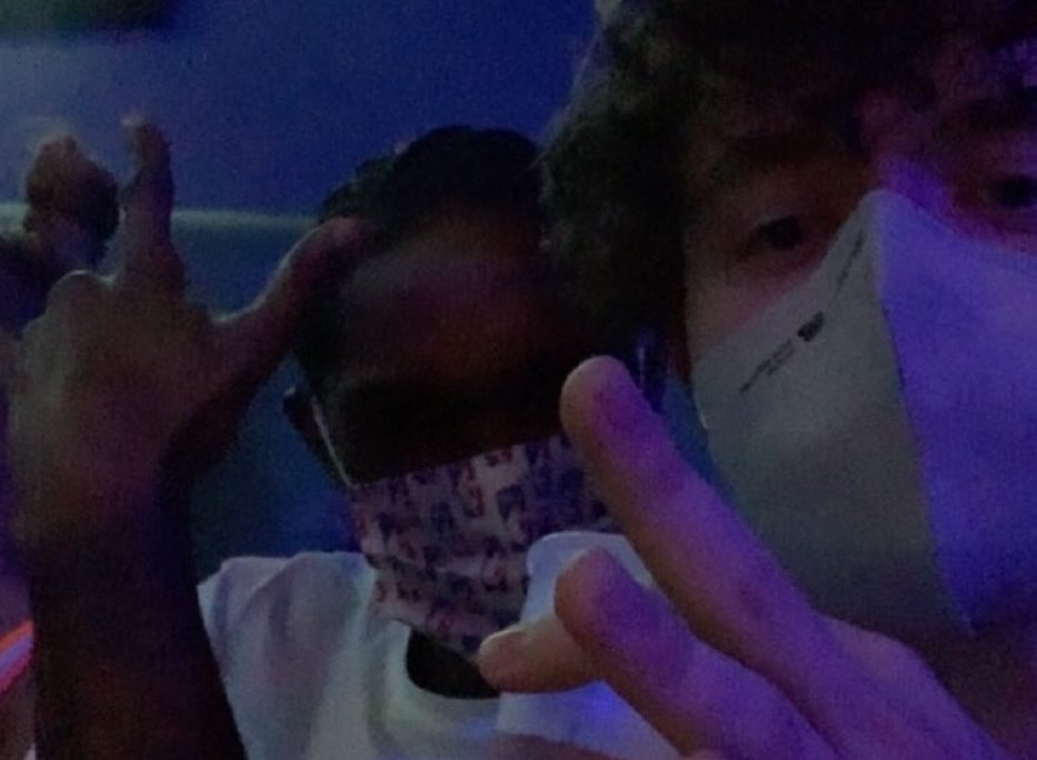 Lou Williams and Jack Harlow