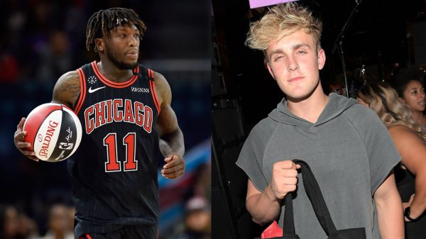 Nate Robinson and Jake Paul