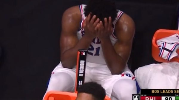 Joel Embiid Miserable