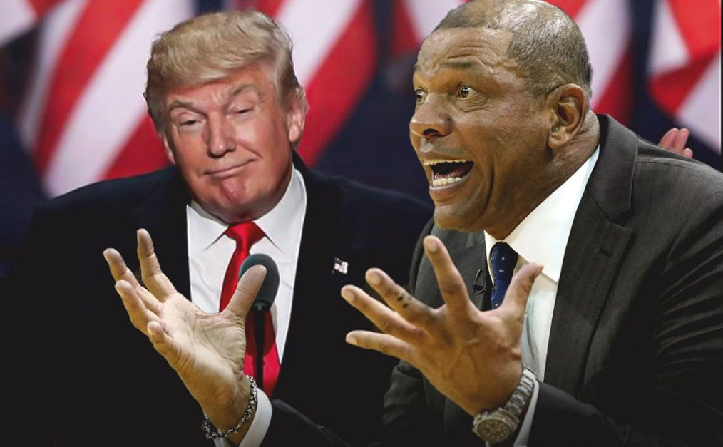 Donald Trump and Doc Rivers