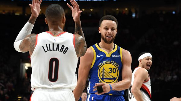 Damian Lillard and Stephen Curry