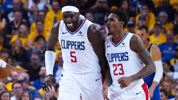 Montrezl Harrell and Lou Williams