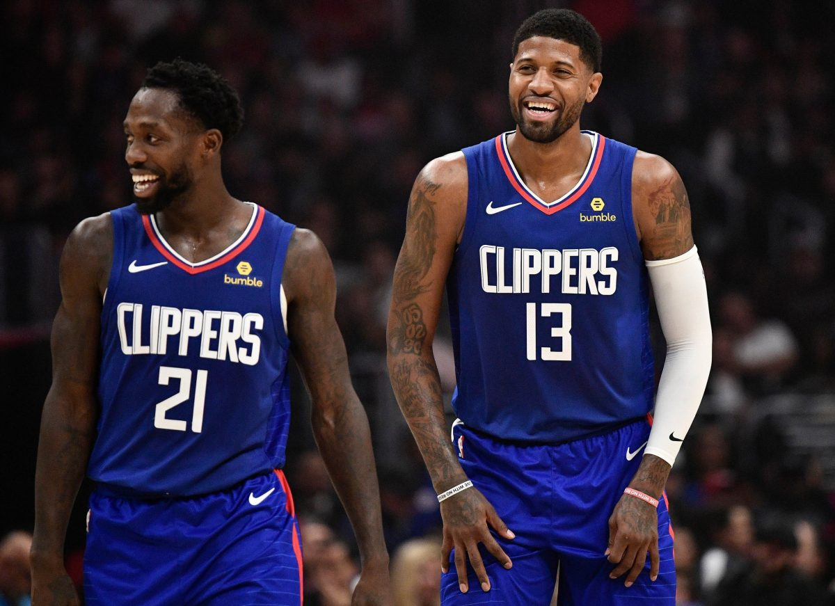 Patrick Beverley And Paul George Continue To Taunt Damian Lillard Who Angrily Claps Back Via Social Media Ahn Fire Digital