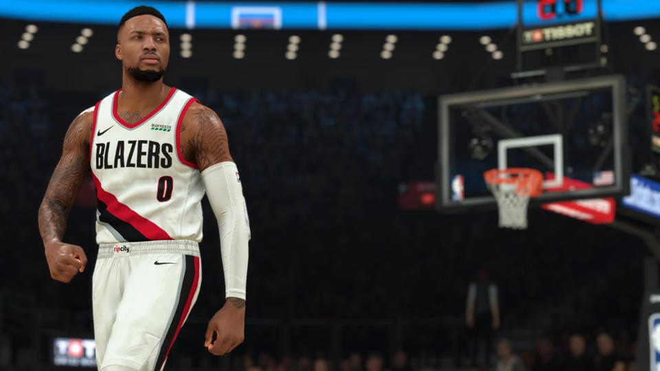 Damian Lillard NBA 2K21
