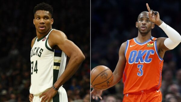 Giannis Antetokounmpo and Chris Paul