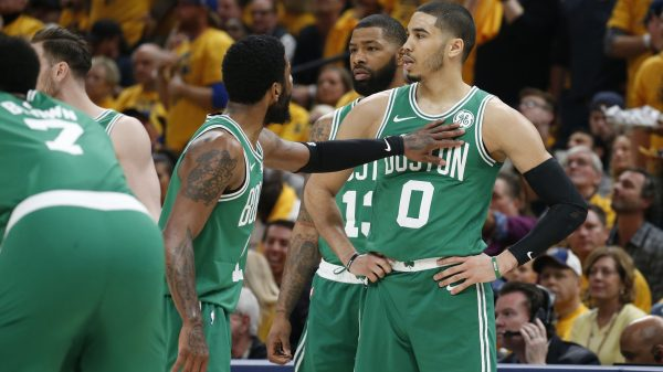Kyrie Irving and Jayson Tatum