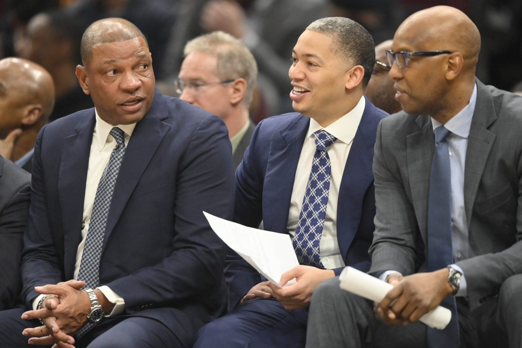 Doc Rivers and Tyronn Lue