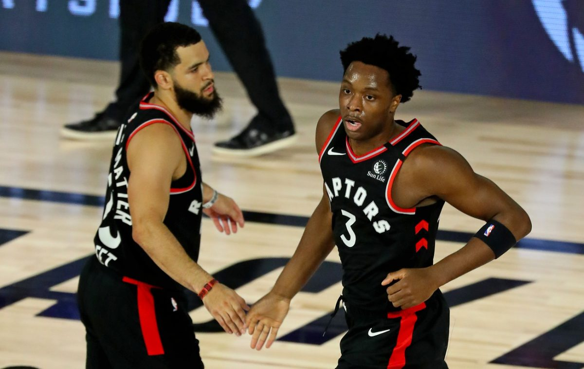 Fred VanVleet and OG Anunoby