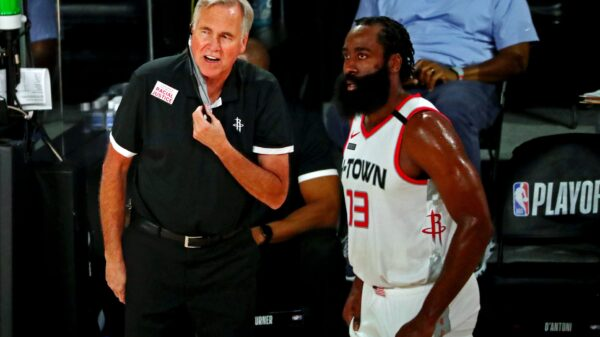 Mike D'Antoni and James Harden