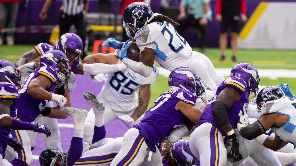 Derrick Henry Tennessee Titans
