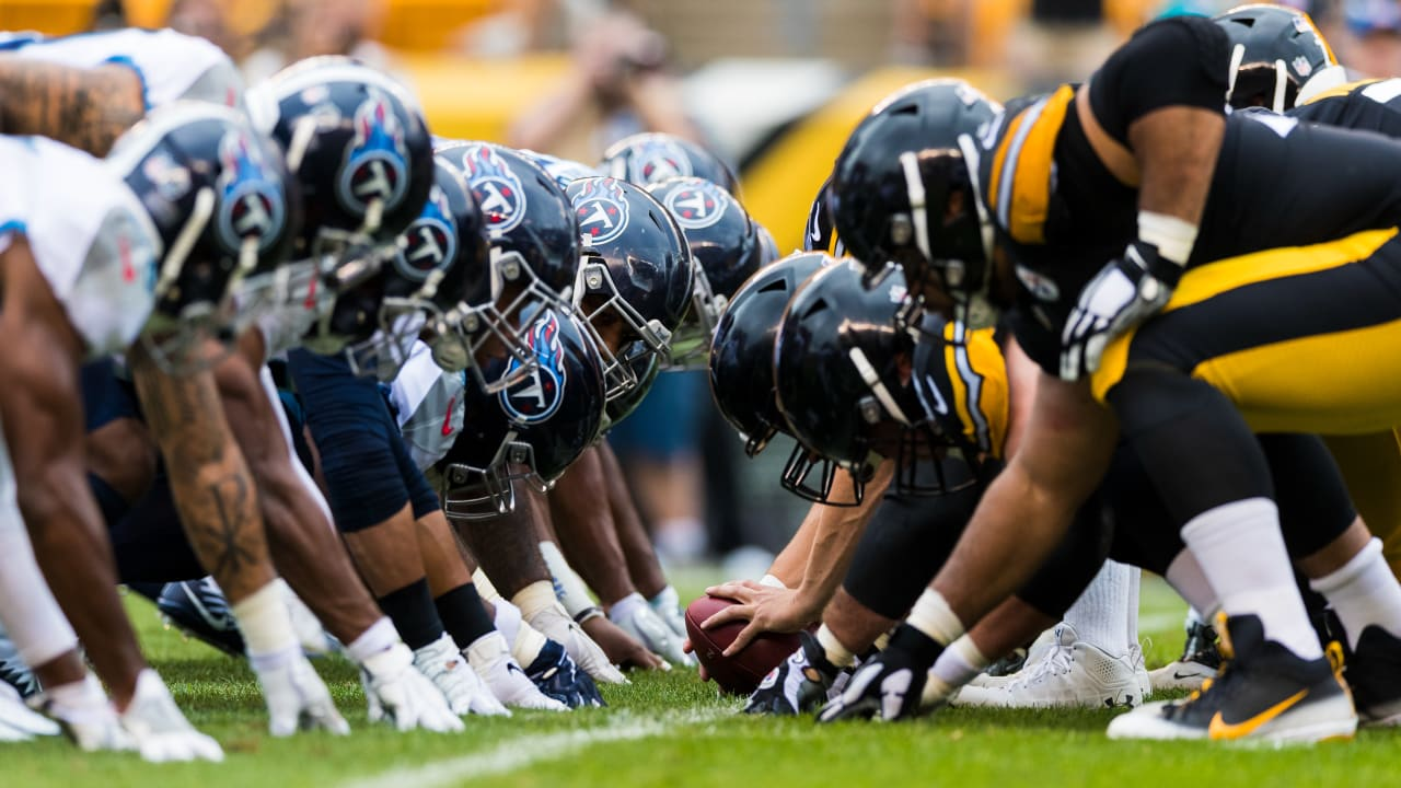 Tennessee Titans and Pittsburgh Steelers