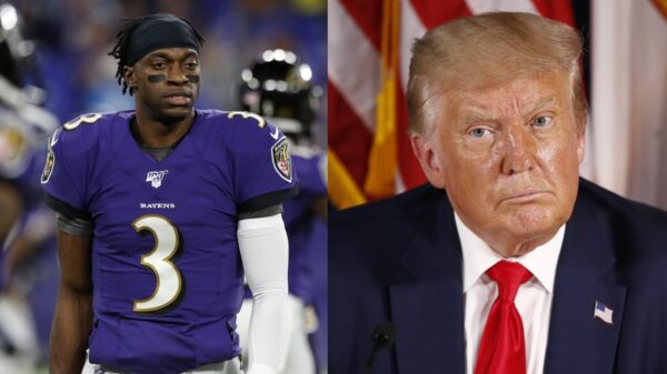 Robert Griffin III and Donald Trump