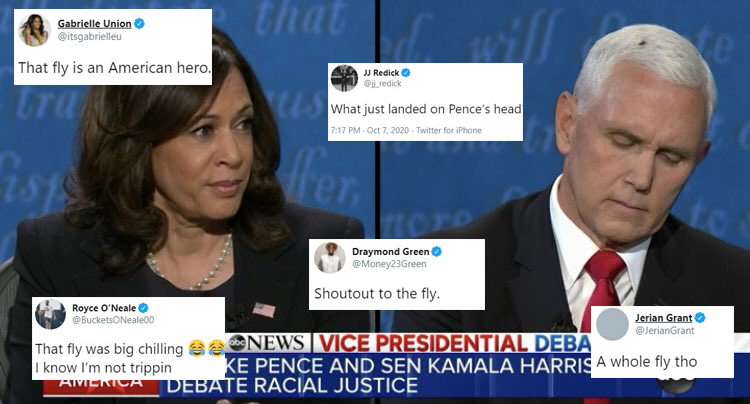 Kamala Harris and Mike Pence