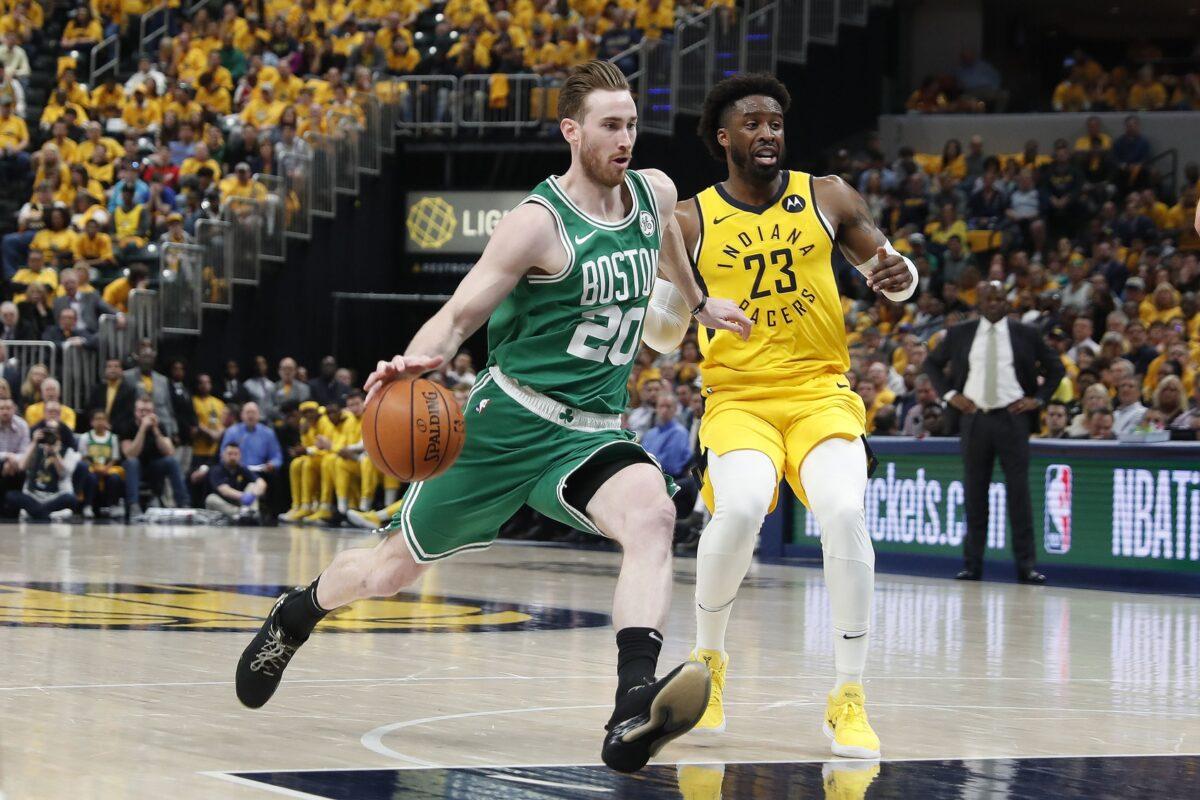 Gordan Hayward Boston Celtics
