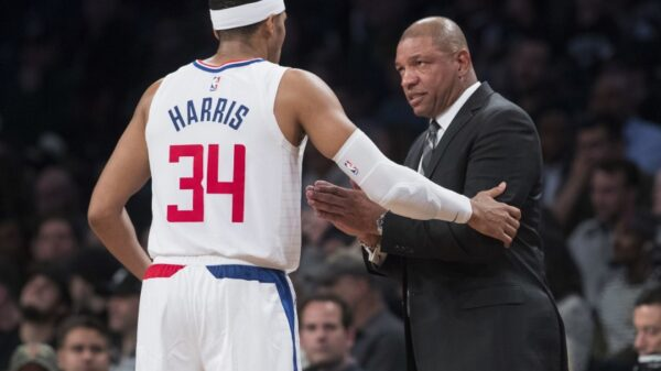 Tobias Harris and Doc Rivers