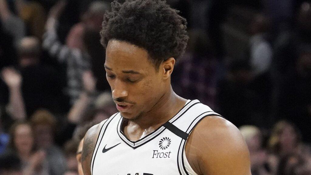 DeMar DeRozan San Antonio Spurs