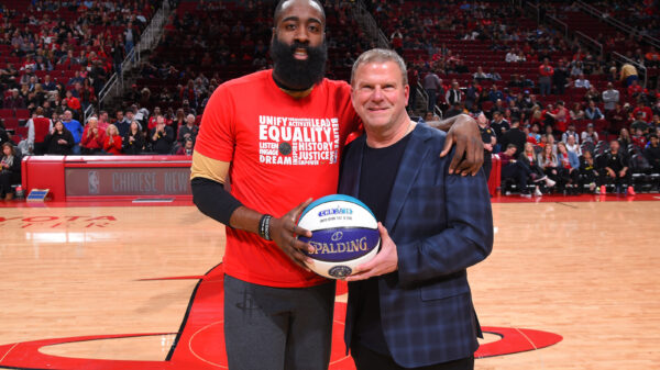 James Harden and Tilman Ferttita
