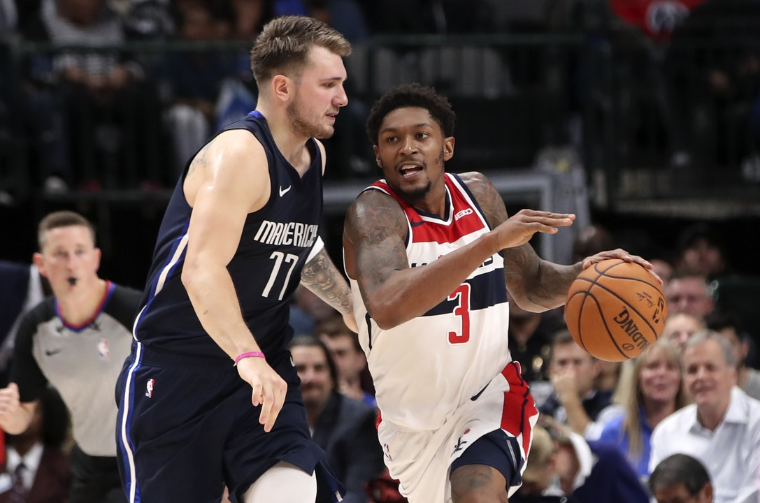 Luka Doncic and Bradley Beal