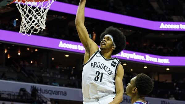 Jarrett Allen Brooklyn Nets