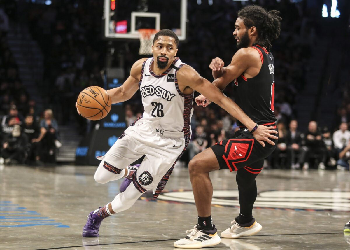 Spencer Dinwiddie and Coby White