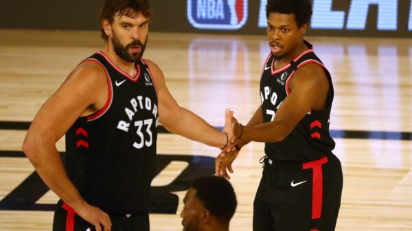 Marc Gasol and Kyle Lowry