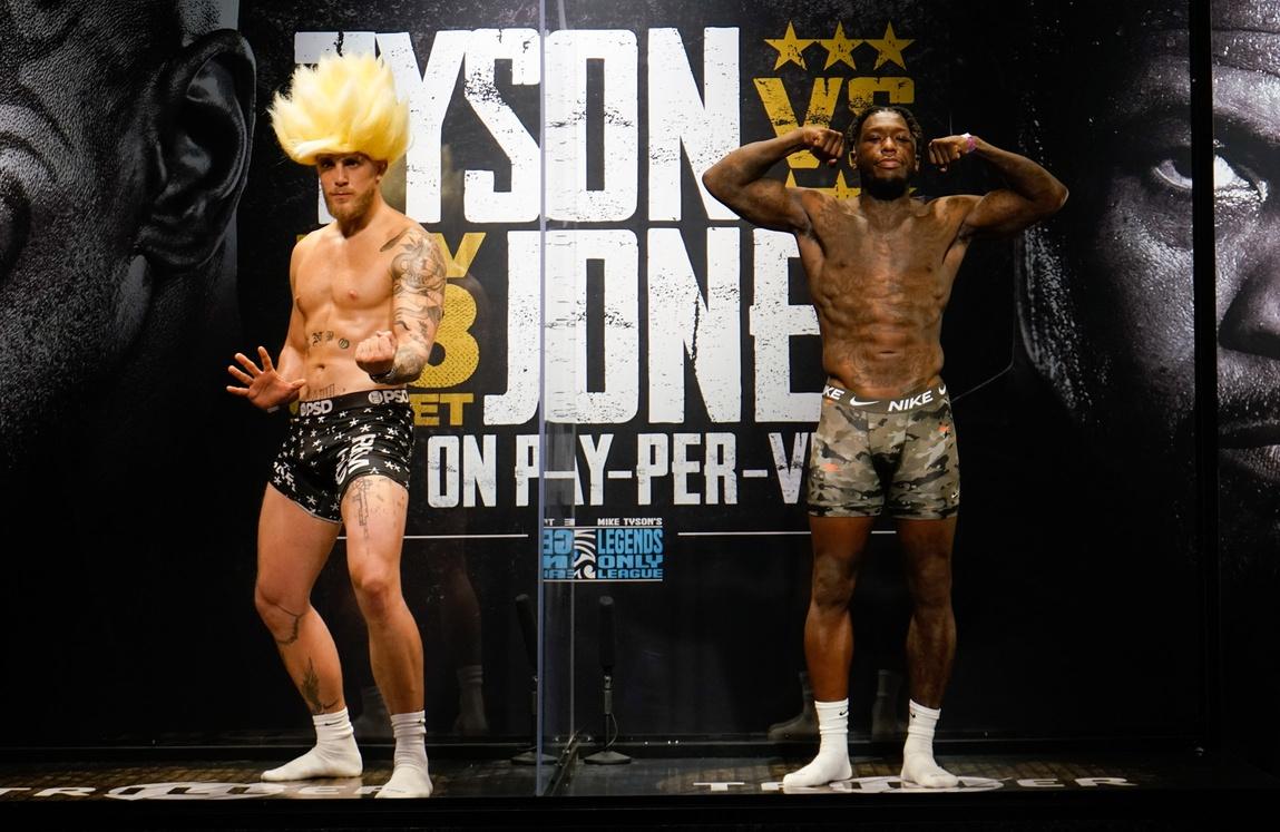 Nate Robinson and Jake Paul