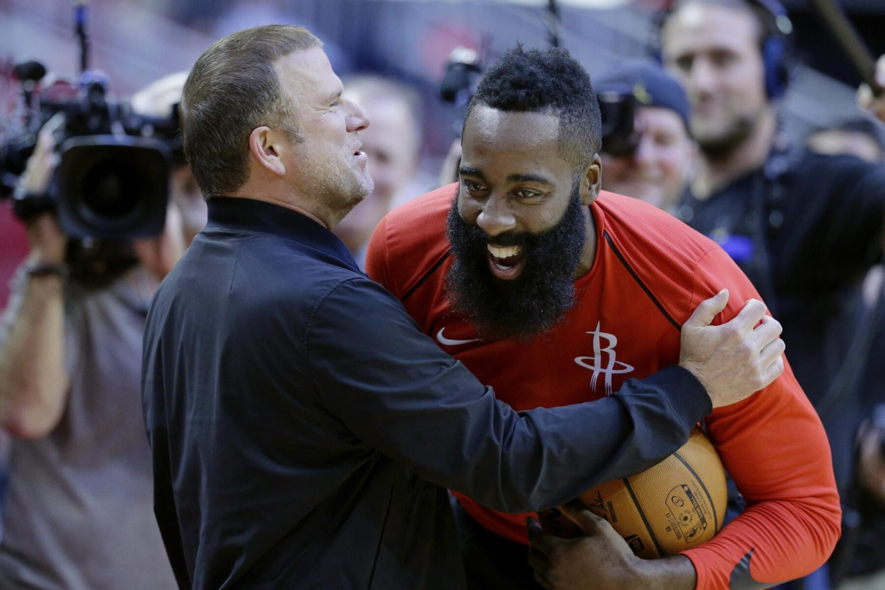 Tilman Fertitta and James Harden