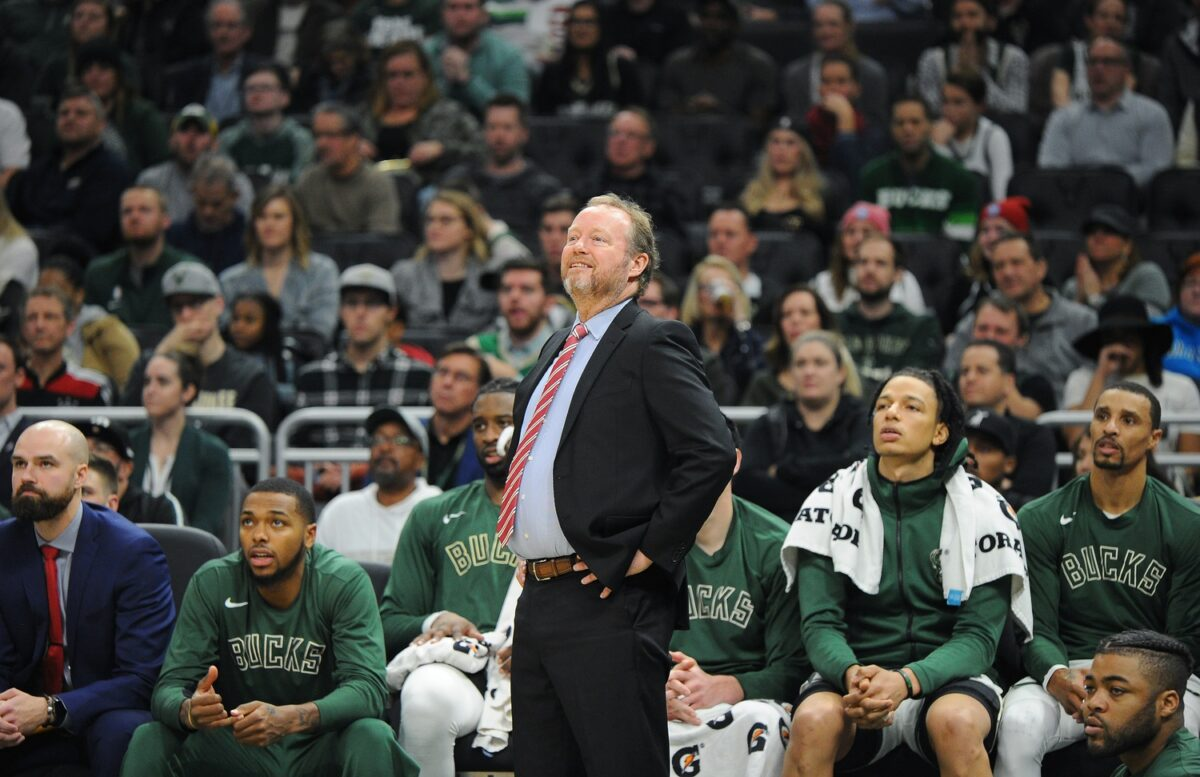 Mike Budenholzer says the Bucks aren't approaching this season as 'championship or bust'
