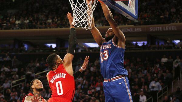 Mitchell Robinson New York Knicks