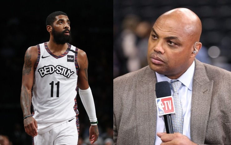 Kyrie Irving and Charles Barkley