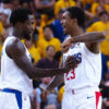 Pat Beverley and Lou Williams
