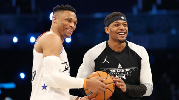 Russell Westbrook and Bradley Beal
