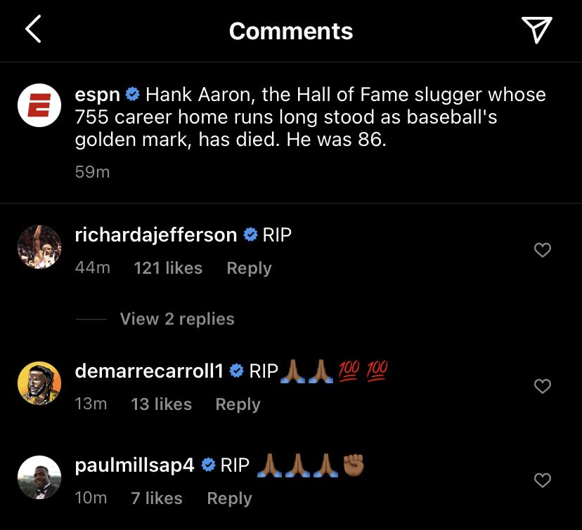 ESPN Hank Aaron