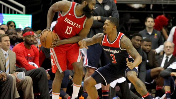 James Harden and Bradley Beal