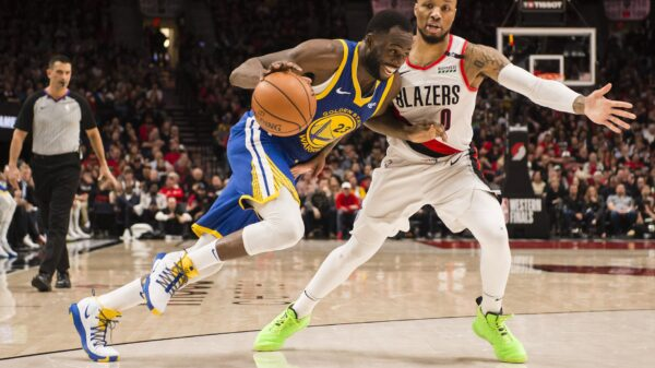 Draymond Green and Damian Lillard