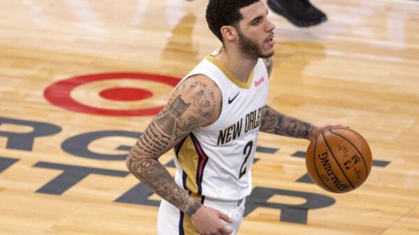 Lonzo Ball New Orlean Pelicans