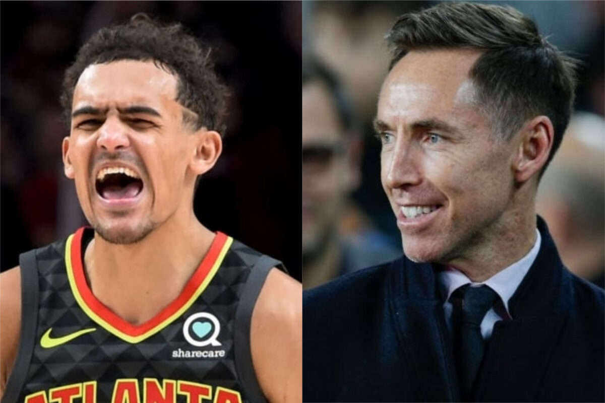 Steve Nash and Trae Young