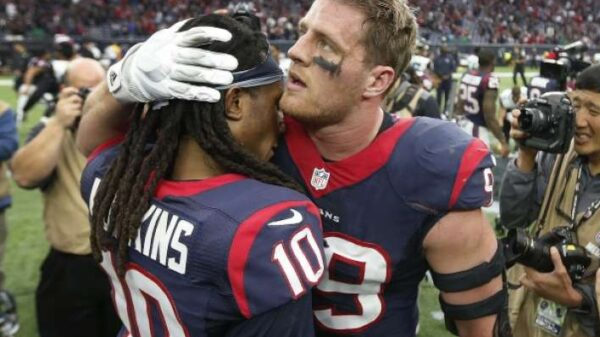 DeAndre Hopkins and J.J. Watt