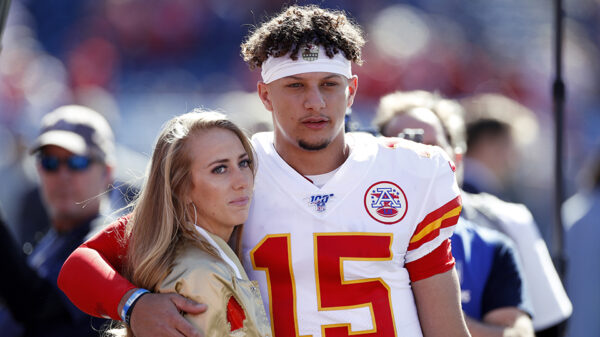 Patrick Mahomes and Fiancee