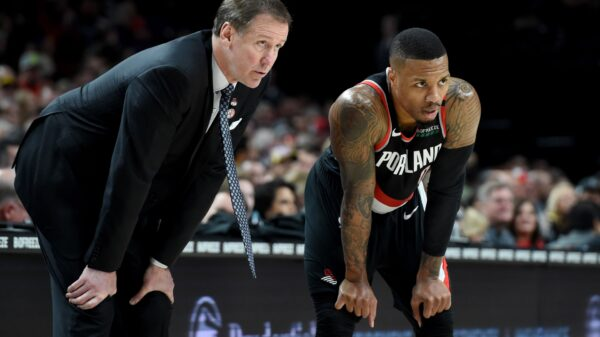 Terry Stotts and Damian Lillard