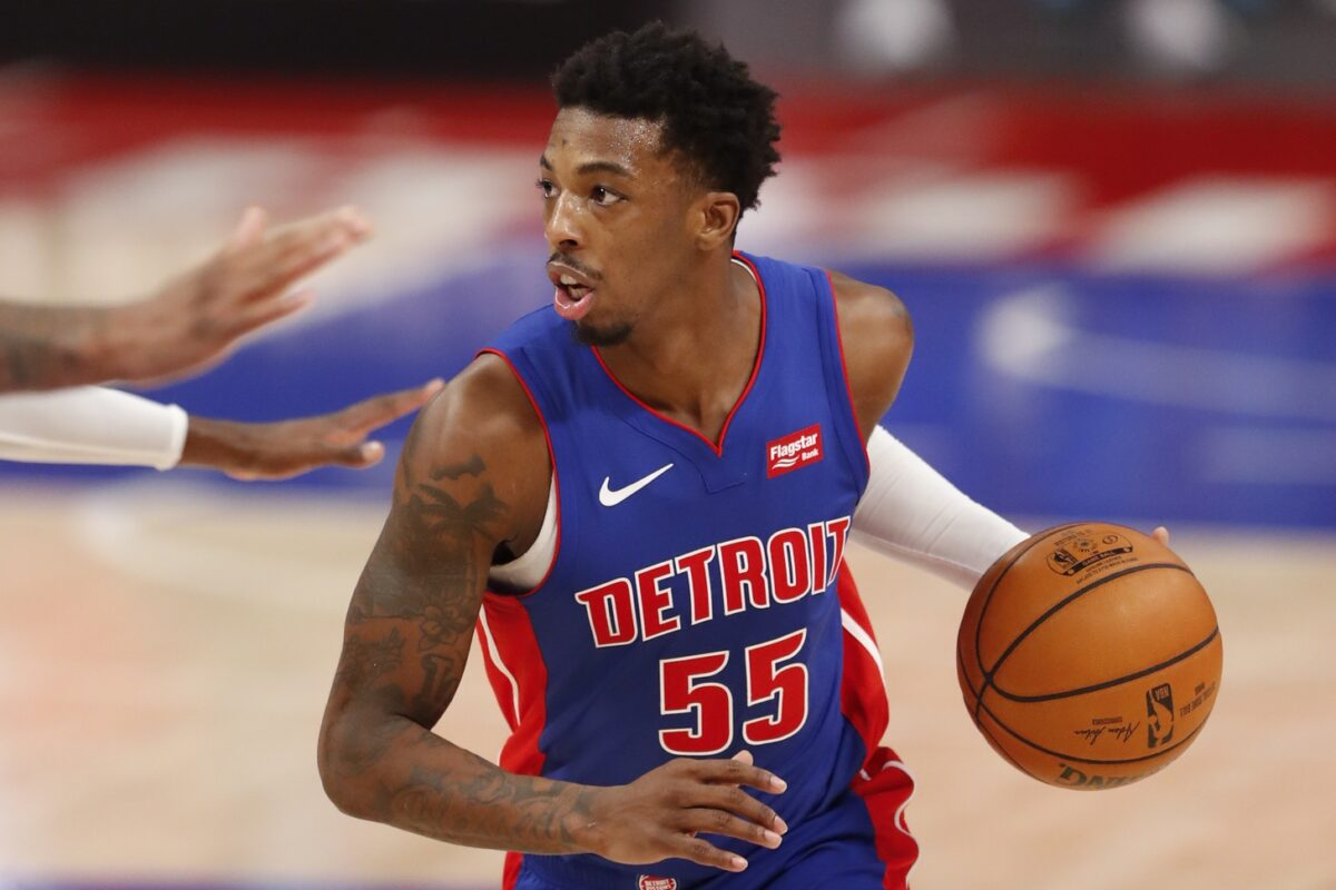 Delon Wright Detroit Pistons