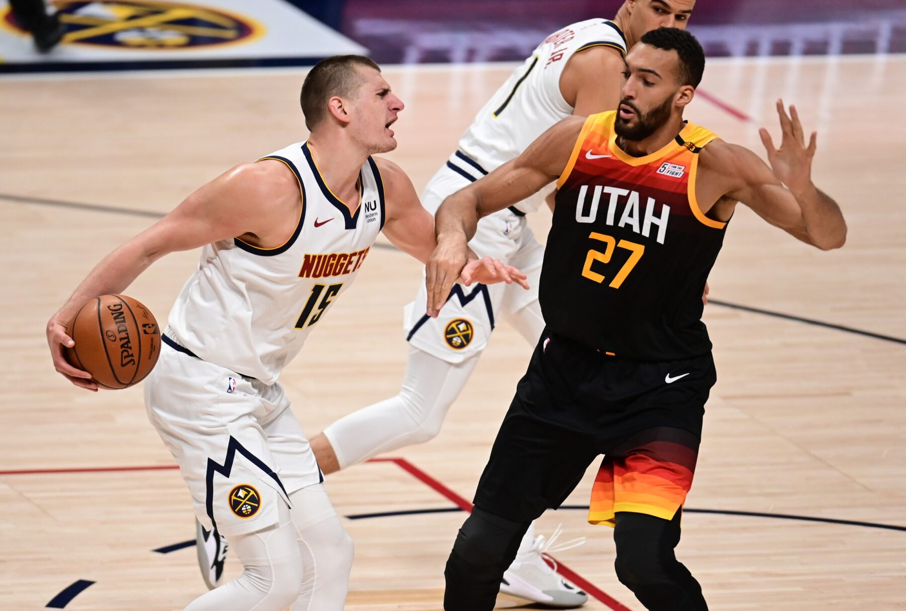 Nikola Jokic and Rudy Gobert