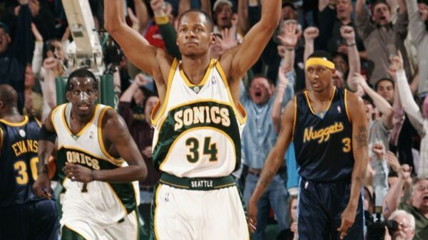 Ray Allen Seattle SuperSonics