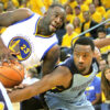 Tony Allen and Draymond Green