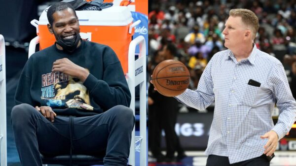 Kevin Durant and Michael Rapaport