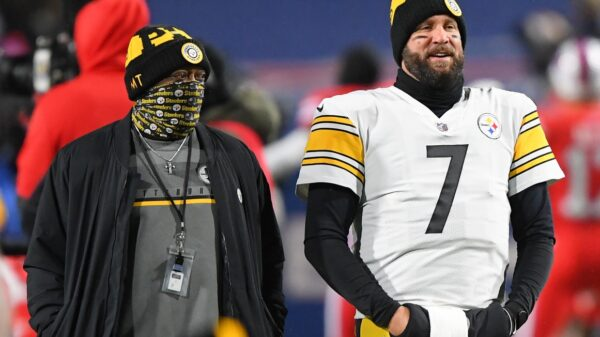 Mike Tomlin and Ben Roethlisberger