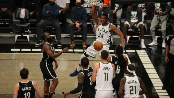 Milwaukee Bucks and Brooklyn Nets