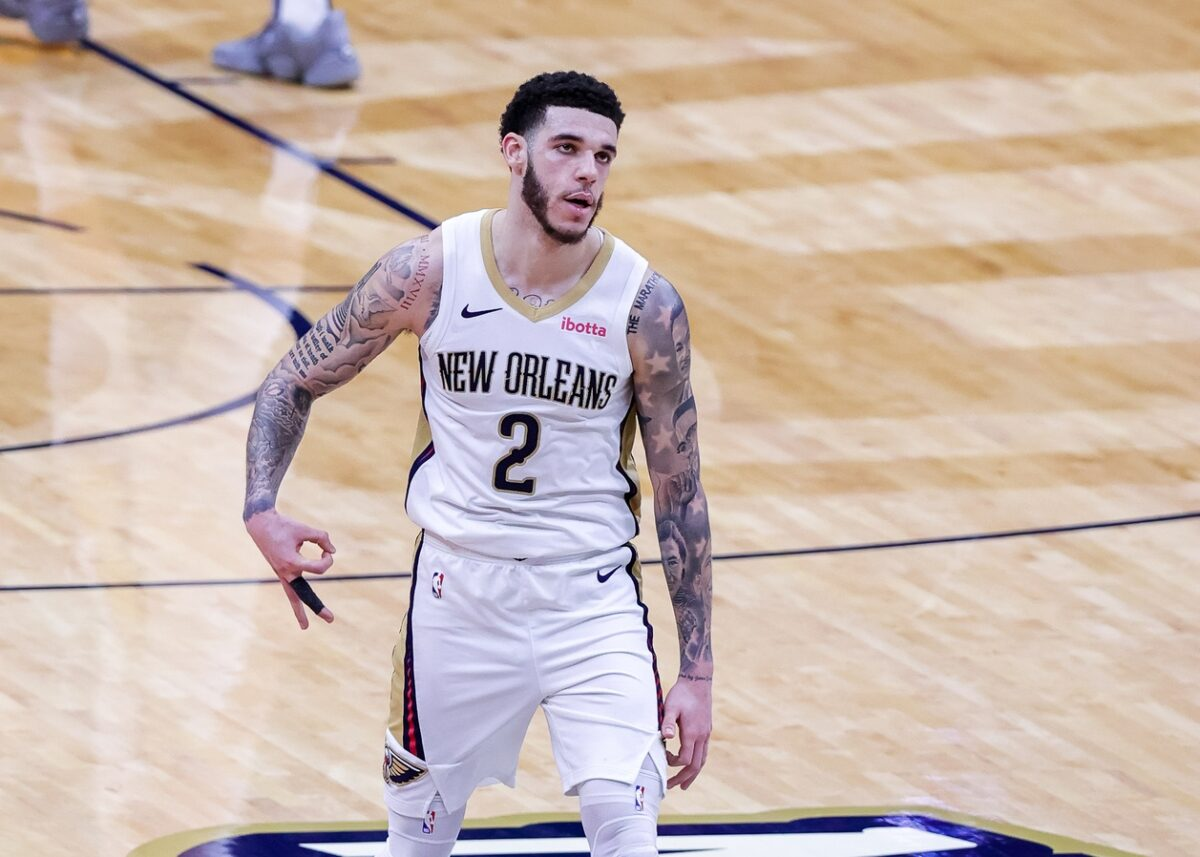 Lonzo Ball Pelicans